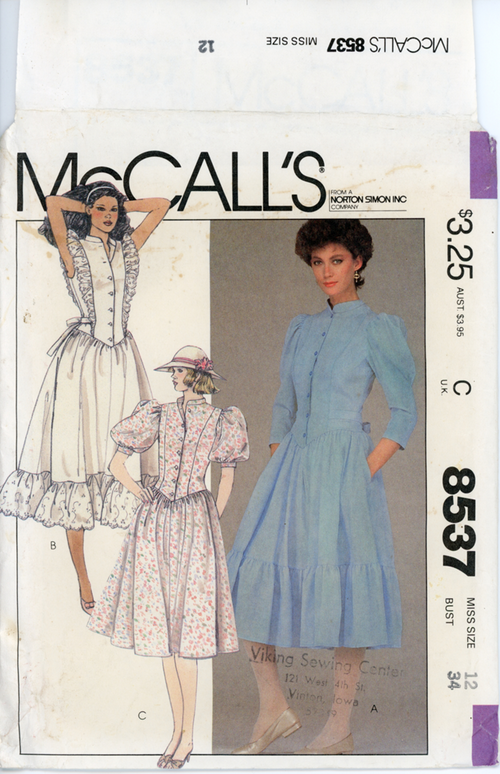 McCall's-8537front