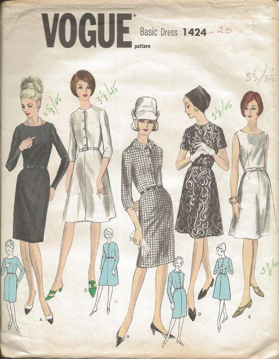 Vogue 1424 1960s