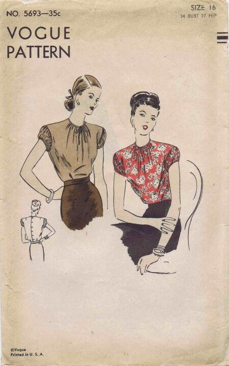 Vogue 1946 5693