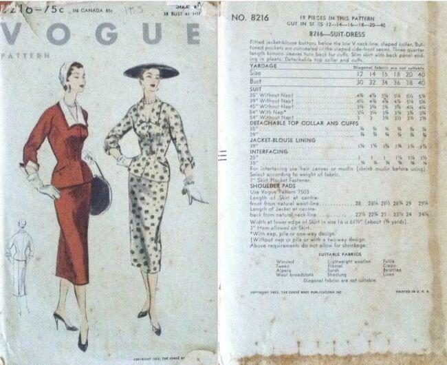 Vogue 8216
