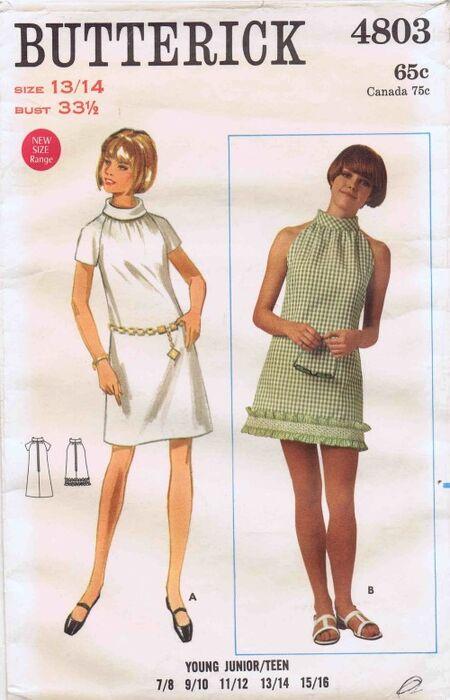 Butterick 1968 4803