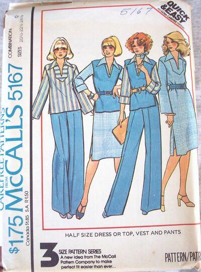 McCall's 5167 A