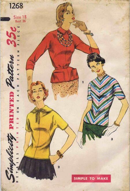 Simplicity 1955 1268