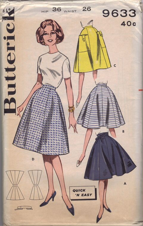 Butterick 9633 front