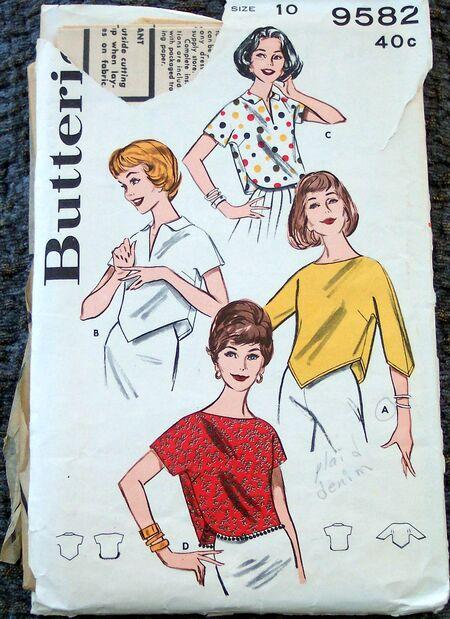 Vintage Patterns 056