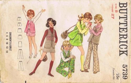 Butterick 1969 5739