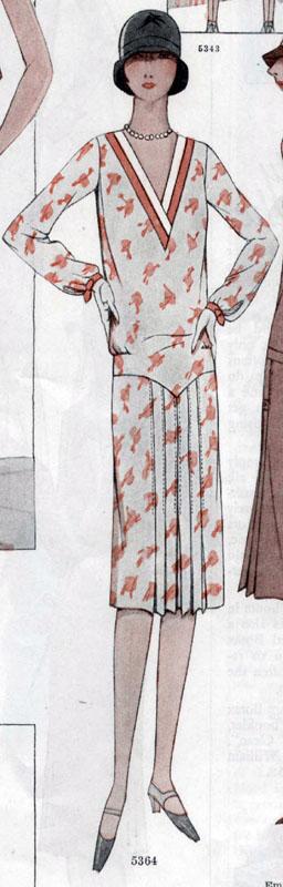 McCall 5364 1928 B