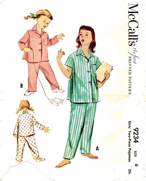 McCalls 1952 9234