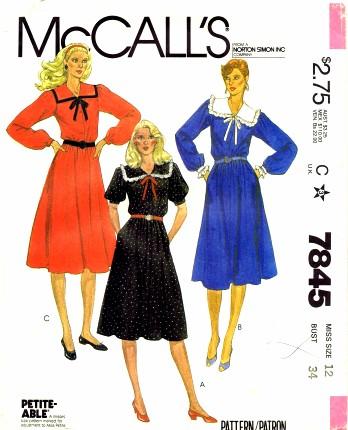 McCalls 1981 7845