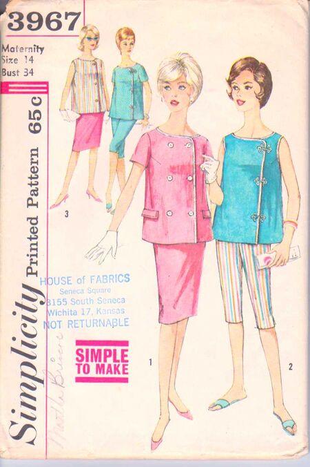 Simplicity 3967 Size 14 Mat