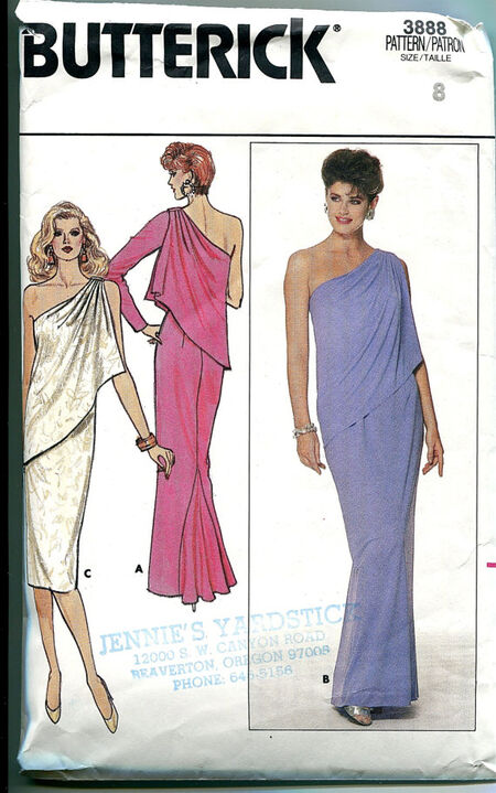 Butterick 3888 at Design Rewind Fashions on Etsy
