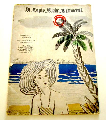 Marian Martin Book of Patterns Summer, 1935