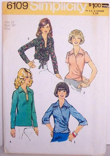 Vintage Simplicity Pattern 6109