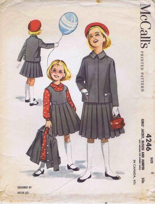 McCalls 1957 4246