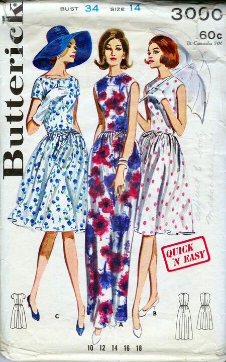Butterick 3000