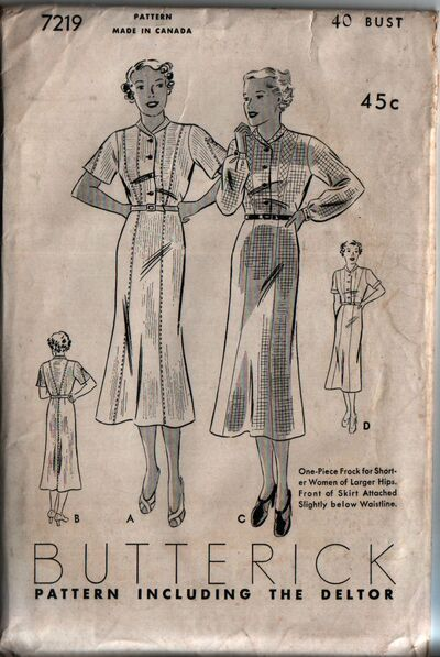 Butterick 7219 front