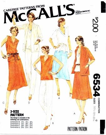 McCalls 6534