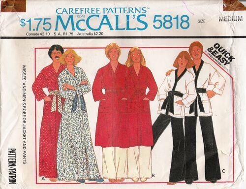 McCall's 5818 image