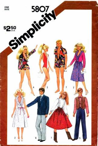 Simplicity 1982 5807