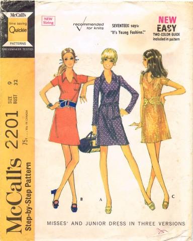McCalls 1969 2201