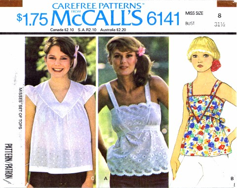 McCalls 1978 6141