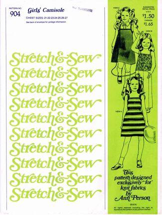 Stretch & Sew 1978 904