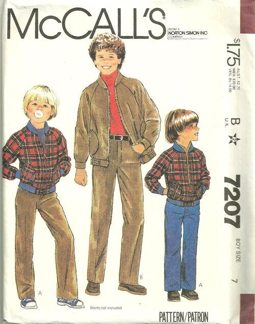McCalls 7207