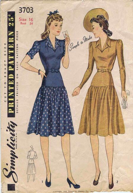 Simplicity 1941 3703