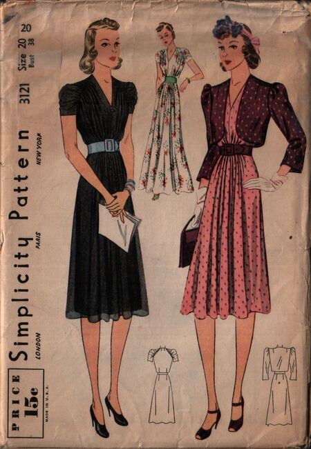 Simplicity 3121 front
