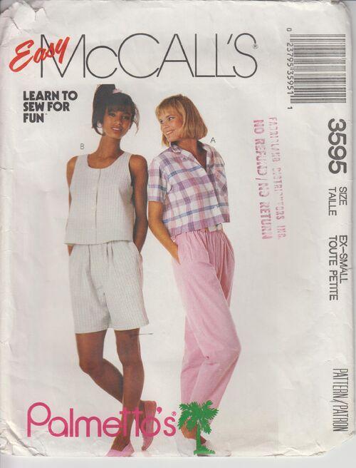 McCall's 3595 B