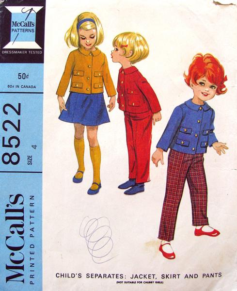 Mccalls 8522