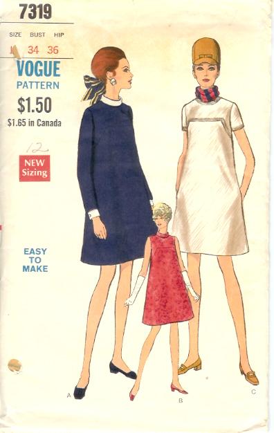 7319V 1960s Maternity