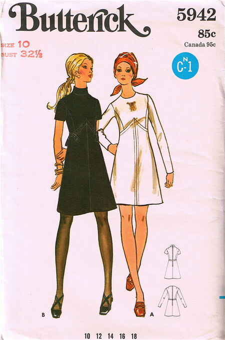 Butterick 5942 image