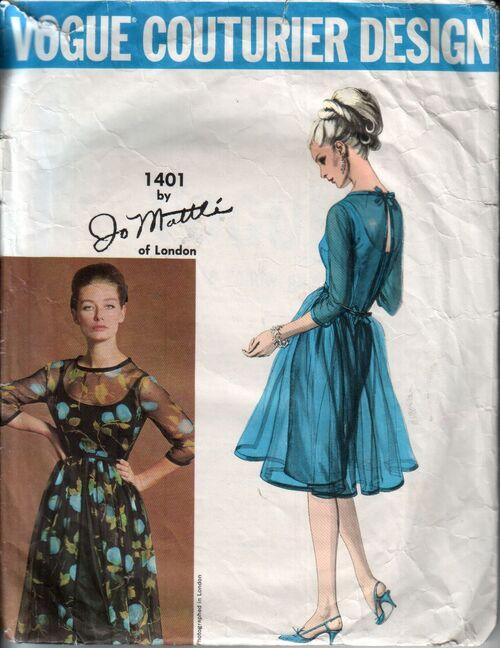 Vogue 1401 front