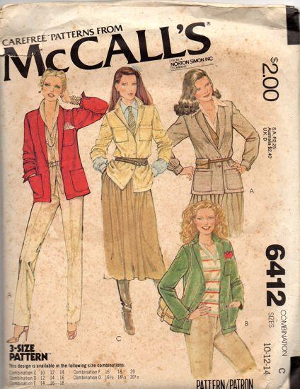 McCall's 6412