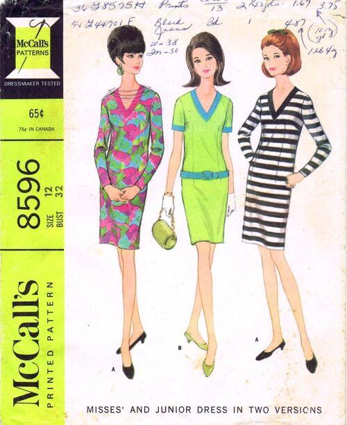 McCalls 1966 8596