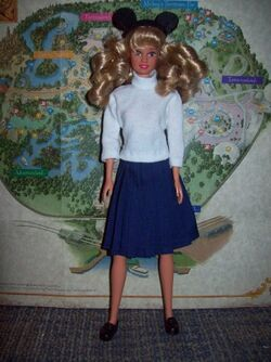 Mouseketeer barbie small