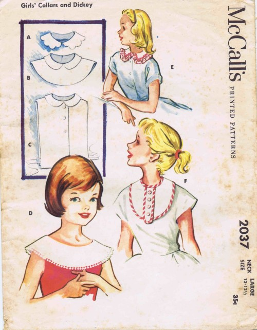 McCalls 1956 2037