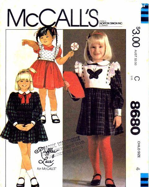 McCalls 1983 8680