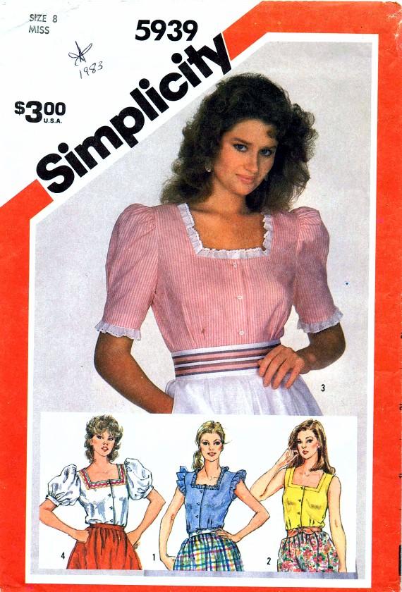 Simplicity 1983 5939