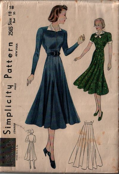 Simplicity 2565 front