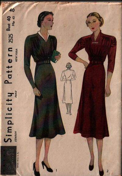 Simplicity 2525 front