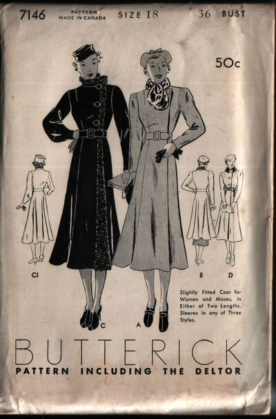 Butterick 7146 front