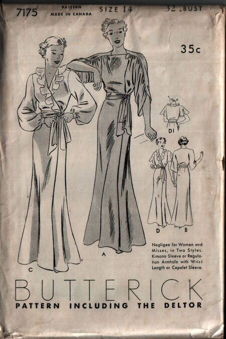 Butterick 7175 front