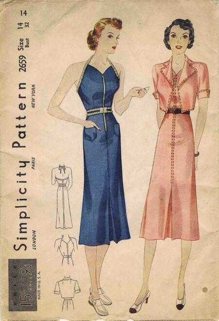 Simplicity 1938 2659