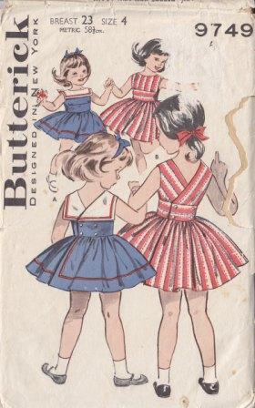 Butterick 9749
