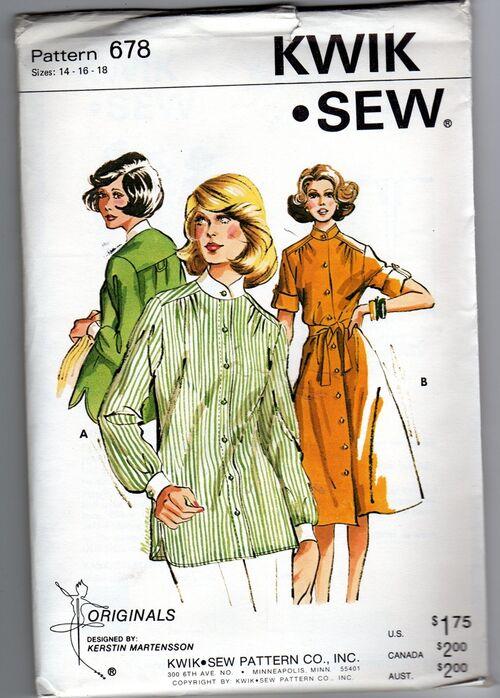 Kwik Sew 678 image