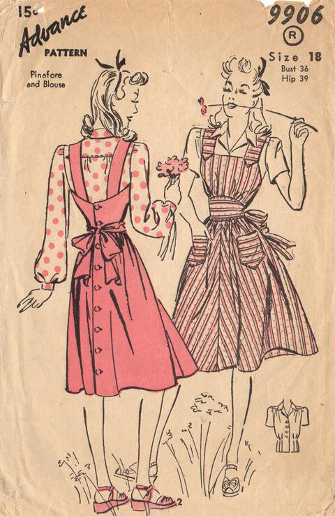 Advance 9906 Sewing Pattern