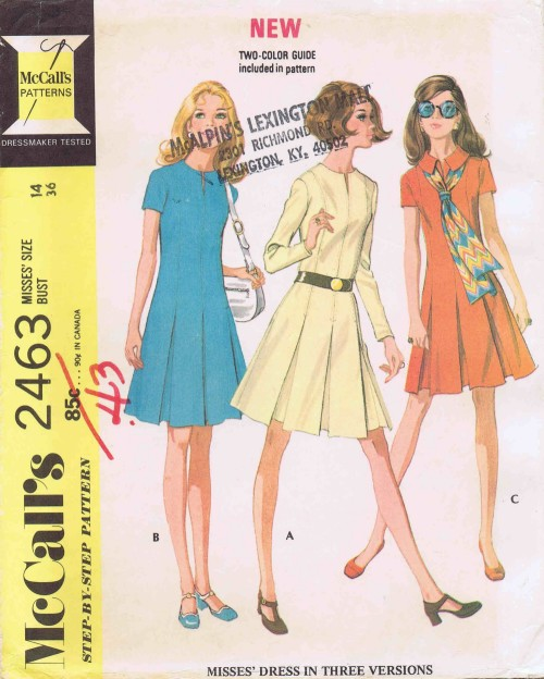 McCalls 1970 2463
