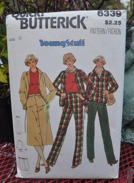 Butterick 6339 A youngstuff